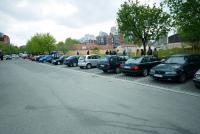 Parking oko pijace Vidikovac